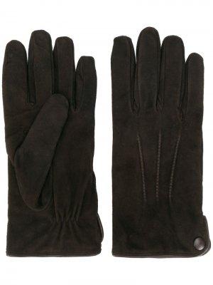 Классические перчатки Eleventy. Цвет: коричневый