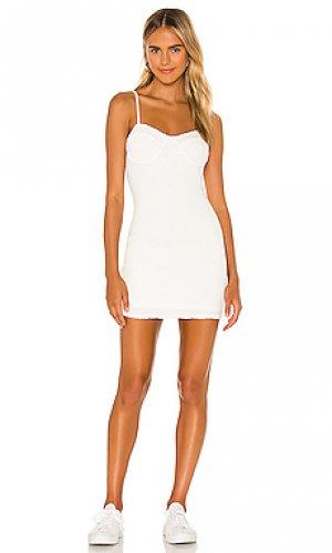 Платье halle MAJORELLE. Цвет: белый