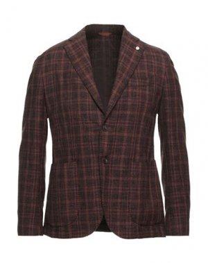 Пиджак BRANDO. Цвет: коричневый