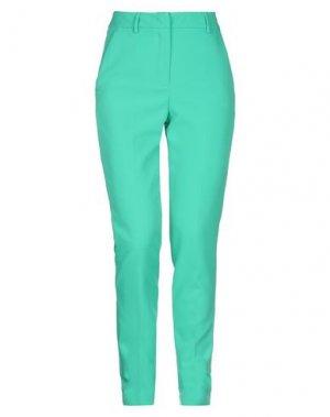 Повседневные брюки HANITA. Цвет: зеленый