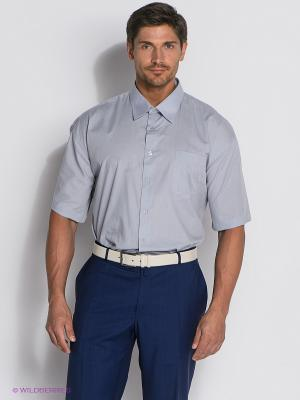 Рубашка Davani. Цвет: светло-серый