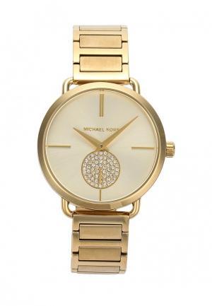 Часы Michael Kors MK3639. Цвет: золотой