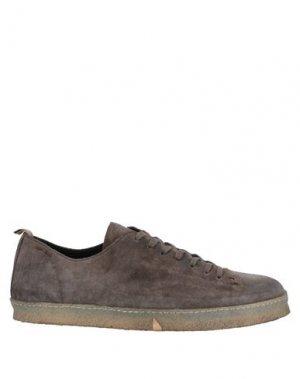 Низкие кеды и кроссовки ALEXANDER HOTTO. Цвет: серый