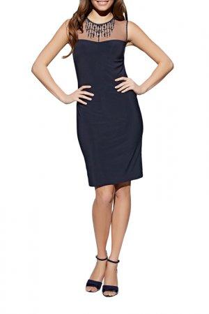 Платье Apart. Цвет: синий