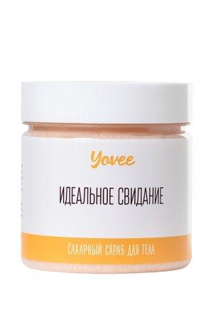 Скраб для тела манго и папайя Yovee by Toyfa. Цвет: прозрачный