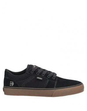 Низкие кеды и кроссовки ETNIES. Цвет: черный