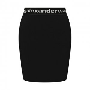 Мини-юбка alexanderwang.t. Цвет: чёрно-белый
