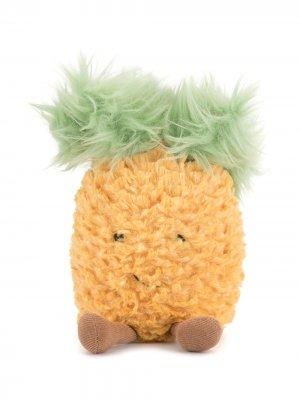 Мягкая игрушка Amuseable Pineapple Jellycat. Цвет: оранжевый