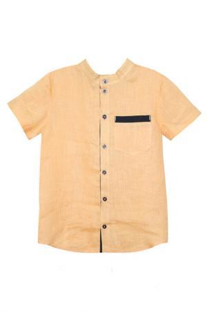 Рубашка Goldy. Цвет: бежевый