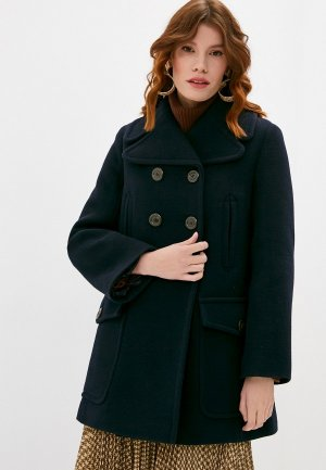 Пальто See by Chloe. Цвет: синий