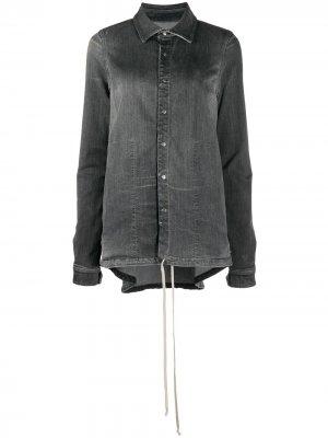 Джинсовая куртка с длинными рукавами Rick Owens DRKSHDW. Цвет: серый