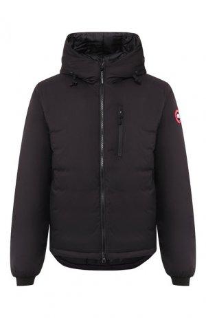 Пуховая куртка Lodge Canada Goose. Цвет: черный