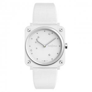 Часы Eagle White Ceramic Bell & Ross. Цвет: белый