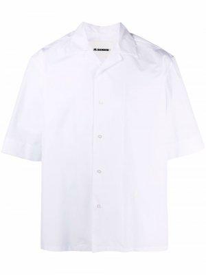 Пижама с вышивкой Jil Sander. Цвет: белый