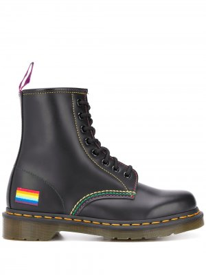 Ботинки 1460 Pride Dr. Martens. Цвет: черный