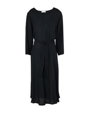 Платье миди 2ND DAY. Цвет: черный