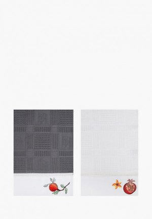 Набор полотенец кухонных Bellehome Garnet Jam, 40х70 см