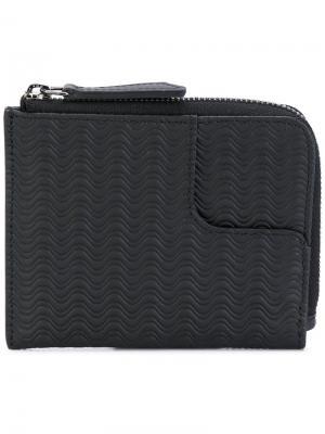Бумажник на молнии Zanellato. Цвет: чёрный