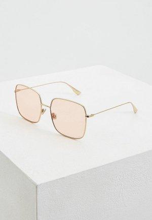 Очки солнцезащитные Christian Dior DIORSTELLAIRE1 J5G. Цвет: золотой