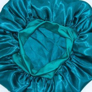 Чепчик для волос SHEIN. Цвет: кадетский синий