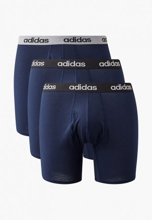 Комплект adidas M CO 3PP BRIEF. Цвет: синий