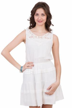 Платье Locust. Цвет: белый