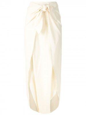 Пляжные брюки с завязками Osklen. Цвет: нейтральные цвета
