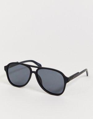 Солнцезащитные очки в квадратной оправе Quay Lost Weekend-Черный Australia