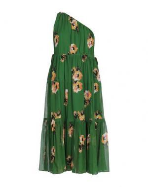 Платье длиной 3/4 A.L.C.. Цвет: зеленый
