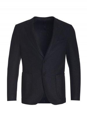 Костюмный пиджак Stones. Цвет: темно-синий