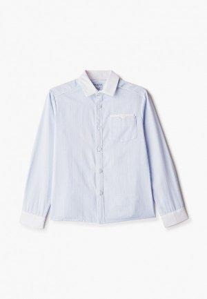 Рубашка Smena. Цвет: голубой