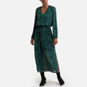 Платье La Redoute. Цвет: зеленый