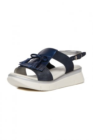 Sandals THE FLEXX. Цвет: navy