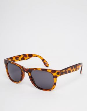 Складывающиеся солнцезащитные очки в черной оправе Spicoli VUNKFZ Vans. Цвет: черный