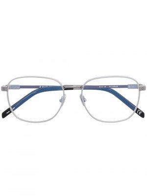H011O square frame glasses Hublot Eyewear. Цвет: серый
