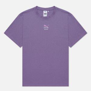 Мужская футболка x Kidsuper Studios Print Puma. Цвет: фиолетовый