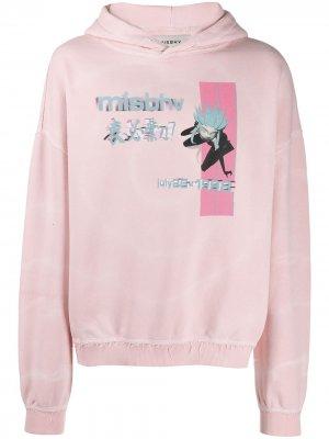 Худи с логотипом Misbhv. Цвет: розовый