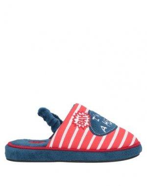 Домашние туфли GIOSEPPO. Цвет: красный