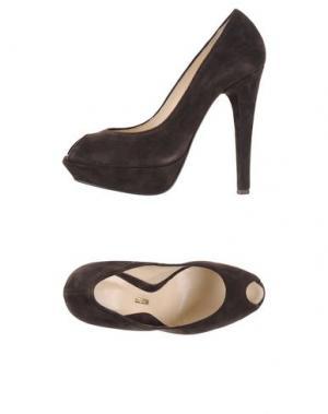 Туфли LEFT AND RIGHT. Цвет: темно-коричневый