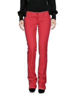 Повседневные брюки CELYN B.. Цвет: кирпично-красный