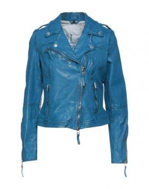 Куртка FREAKY NATION. Цвет: лазурный