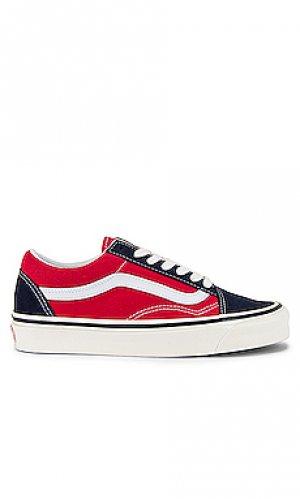 Низкие кроссовки old skool 36 dx Vans. Цвет: красный
