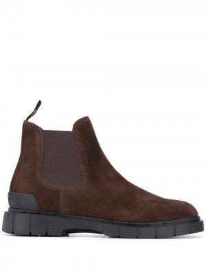 Ботинки челси Car Shoe. Цвет: коричневый