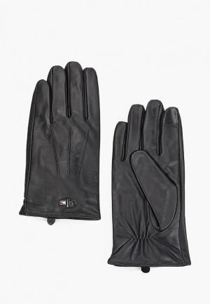 Перчатки Tommy Hilfiger Mercedes Benz. Цвет: черный