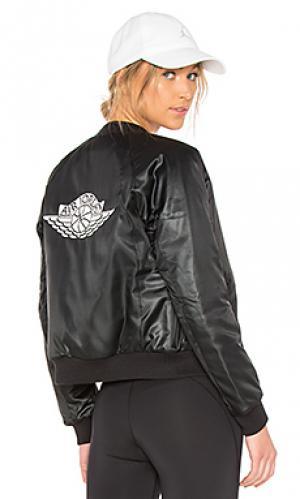 Куртка бомбер Jordan. Цвет: черный