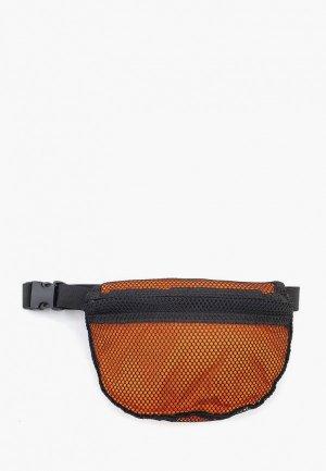 Сумка поясная ORZ-design. Цвет: оранжевый