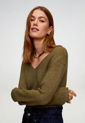 Пуловер Mango - ESTORIL. Цвет: хаки