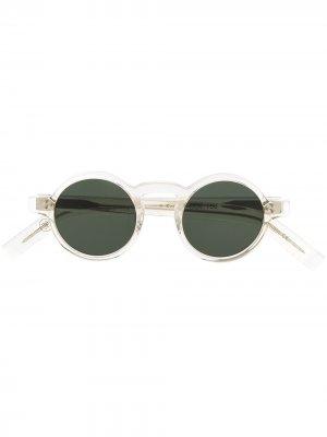 Солнцезащитные очки Freud Lesca. Цвет: зеленый