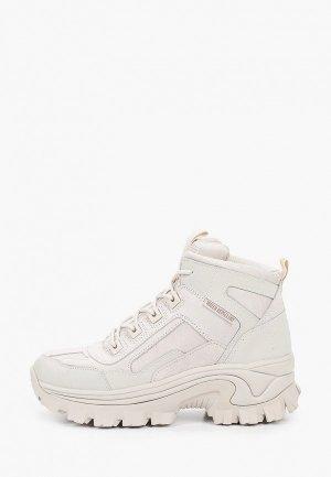 Ботинки Skechers STREET BLOX. Цвет: серый