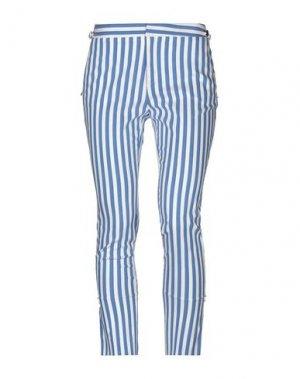 Повседневные брюки EUREKA by BABYLON. Цвет: лазурный